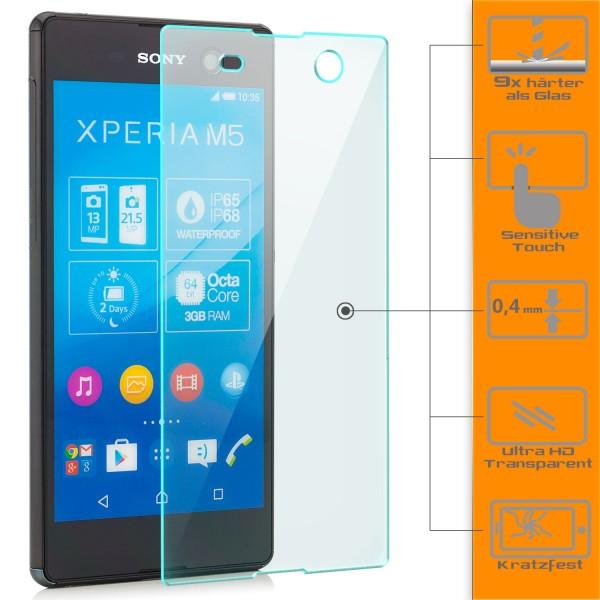 Displayschutzglas für Sony Xperia M5