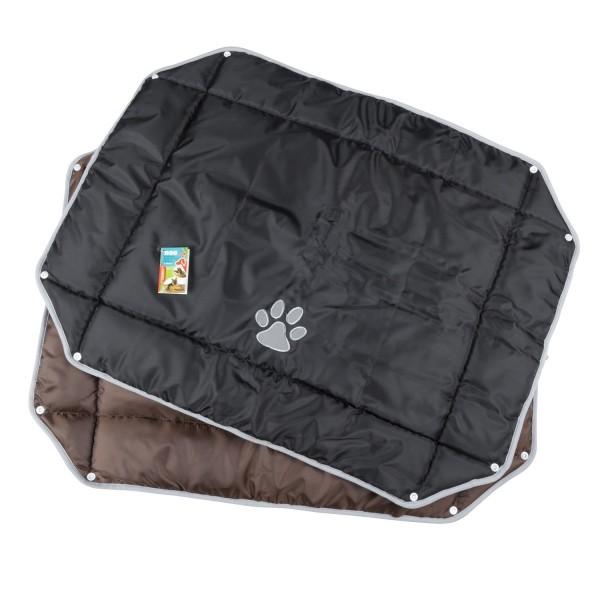 Haustierbett / Hundebett / Katzenbett 80x63 - Braun