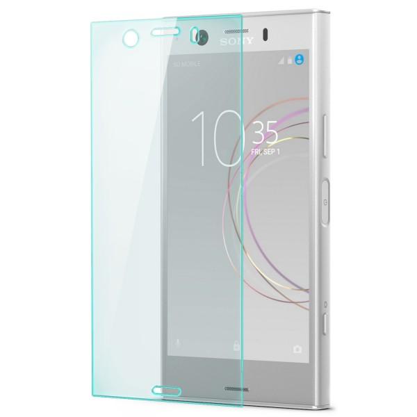 Full Cover Displayschutzglas für Sony Xperia XZ1 Compact - Transparent