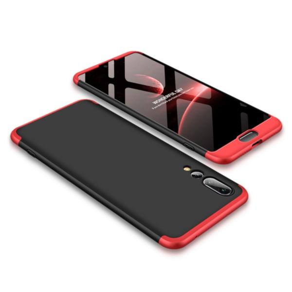GKK Hülle für Huawei P20 Pro - Schwarz-Rot