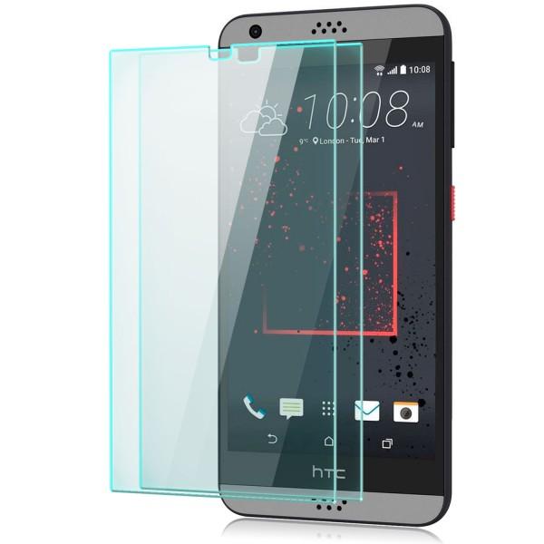 2x Displayschutzglas für HTC Desire 530