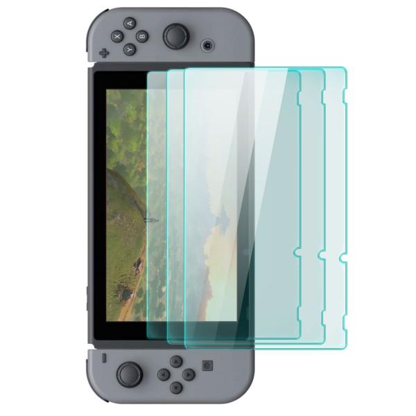 3x Displayschutzglas für Nintendo Switch