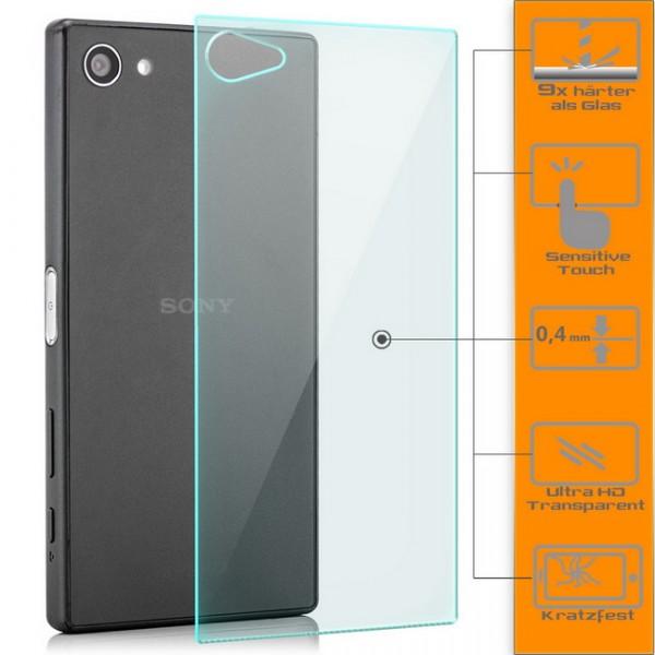 Panzerglas für Sony Xperia Z5 Compact Rückseite