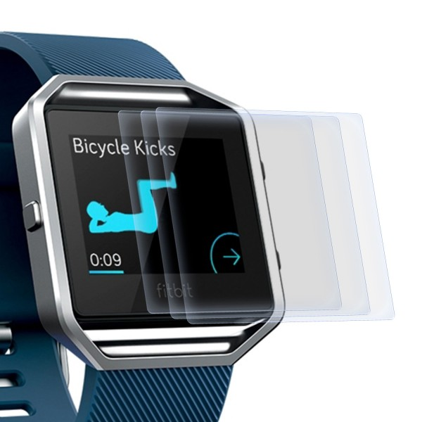 3x Displayschutzfolie für Fitbit Blaze