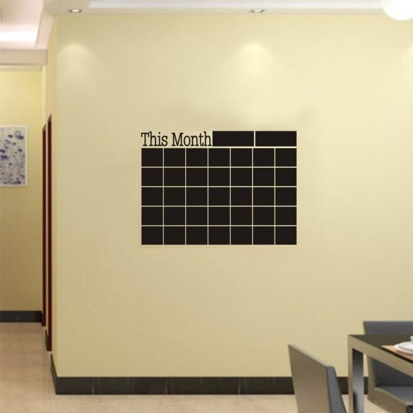 Monatsplaner Wand Sticker