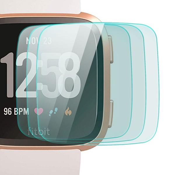 3x Displayschutzglas für Fitbit Versa
