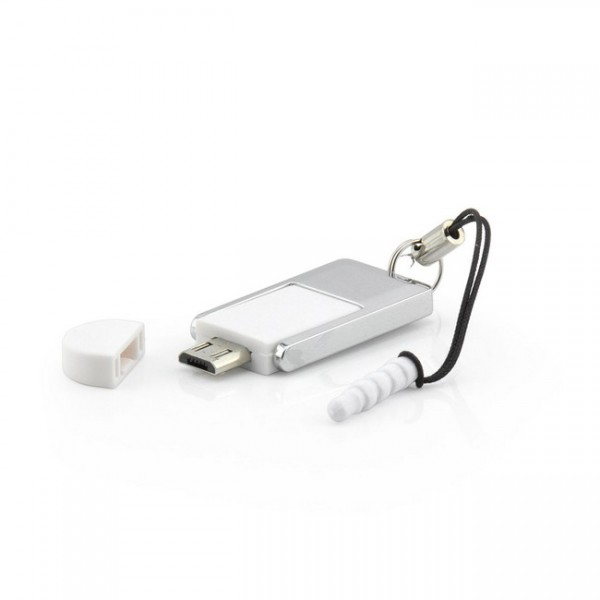 OTG-Adapter Micro-USB zu USB + Micro-SD