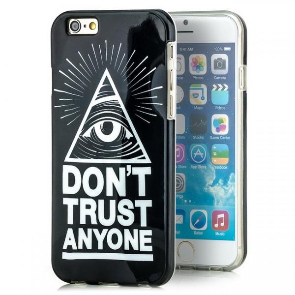 Don't Trust Silikon Cover für Apple iPhone 6 (4,7)