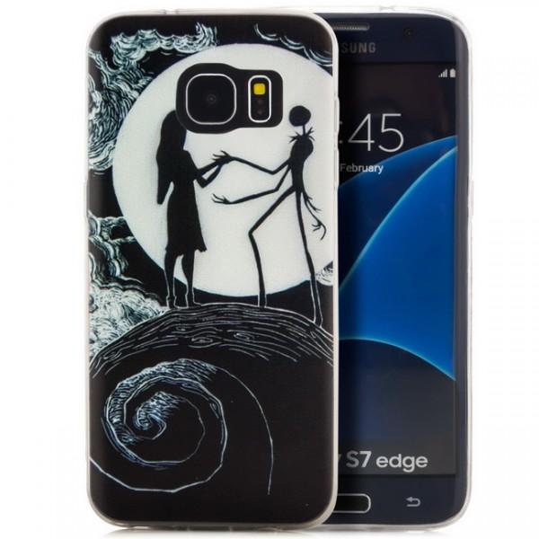 Silikon Motiv Case 2 für Samsung Galaxy S7 edge - Goth Toon