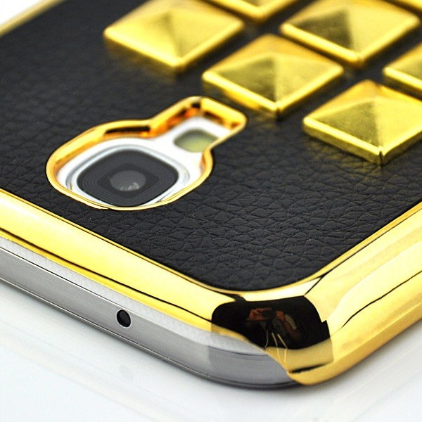Gold Rivets Back Cover für Samsung Galaxy S4