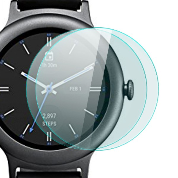 2x Displayschutzglas für LG Watch Style