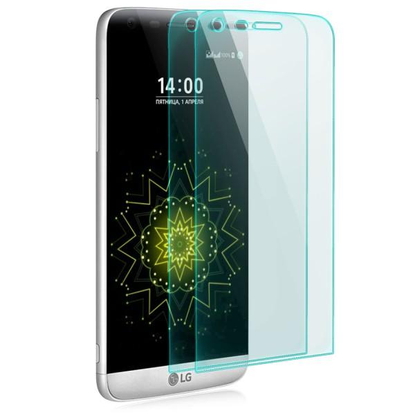 2x Curved Displayschutzglas für LG G5 - Transparent