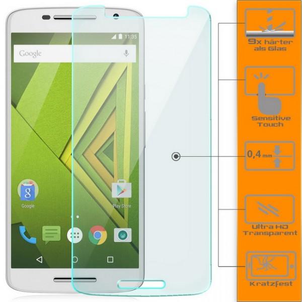 3x Displayschutzglas für Motorola Moto X Play