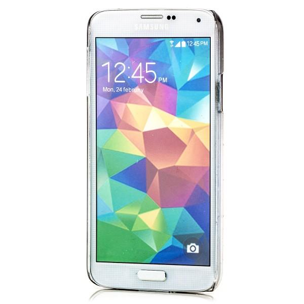 Regentropfen Hard Case für Samsung Galaxy S5 Schwarz