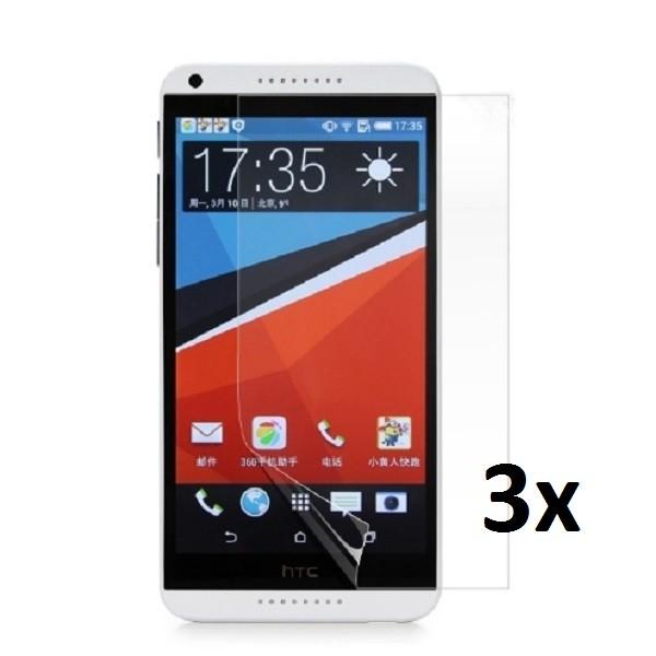 3x Displayschutzfolie für HTC Desire 816 Klar