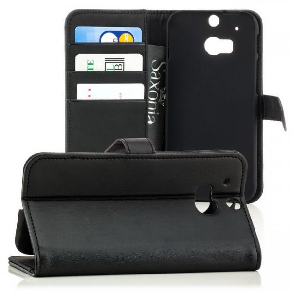Business Schutztasche für HTC One M8 Schwarz
