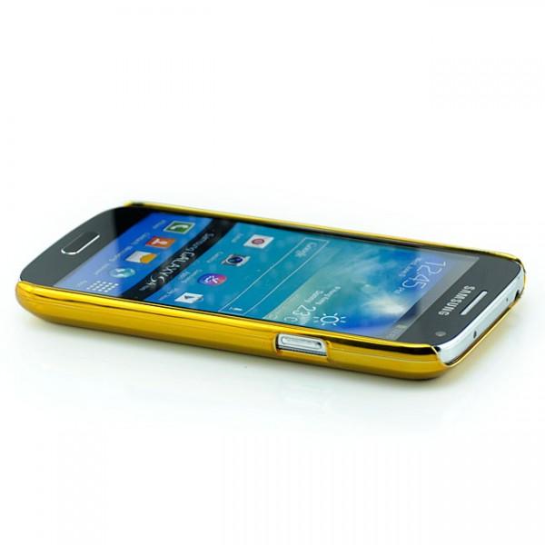 Glitzer Back Cover für Samsung i9190 Galaxy S4 Mini Rot