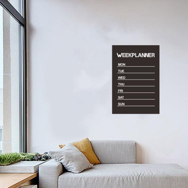 Week Planner Wand Sticker