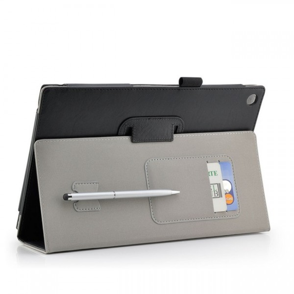 Business Tasche für Sony Xperia Tablet Z Schwarz + Stift