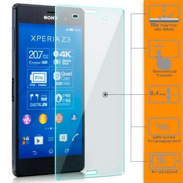 Displayschutzglas für Sony Xperia Z3