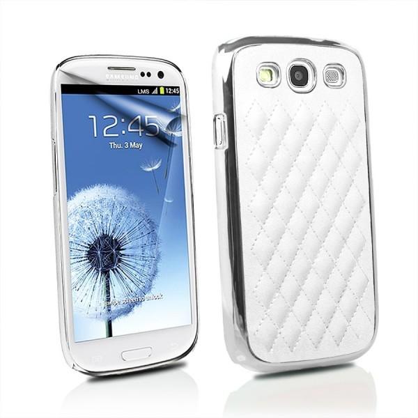 Deluxe Back Cover für Samsung Galaxy S3 Weiß