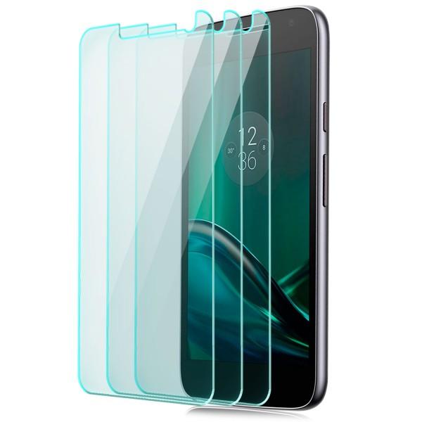 3x Displayschutzglas für Lenovo Motorola Moto G4 Play