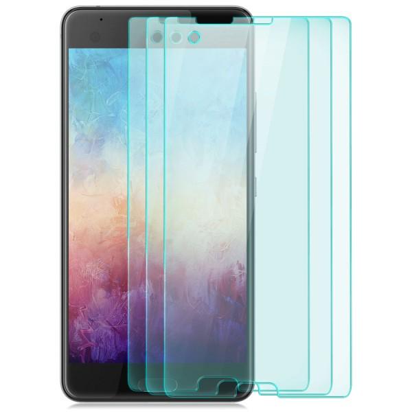 3x Displayschutzglas für HTC U Ultra