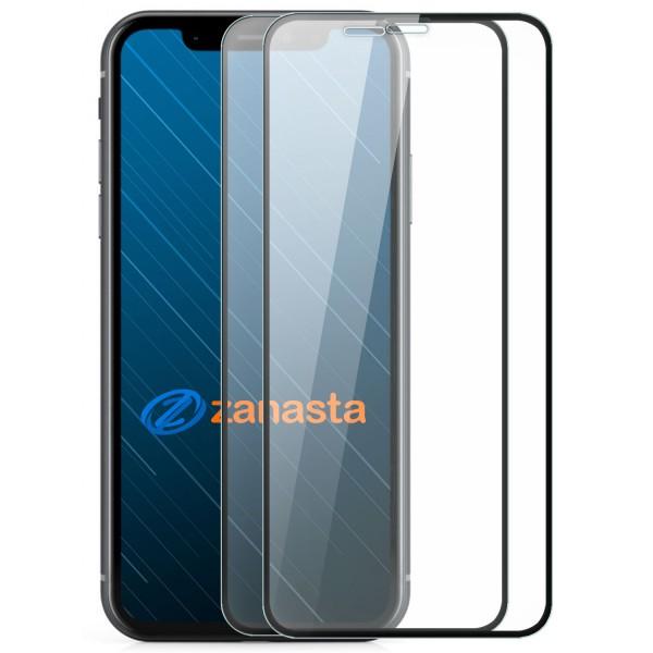 """2x Full Cover Displayschutzglas für Apple iPhone XS Max (6,5"""") - Schwarz"""