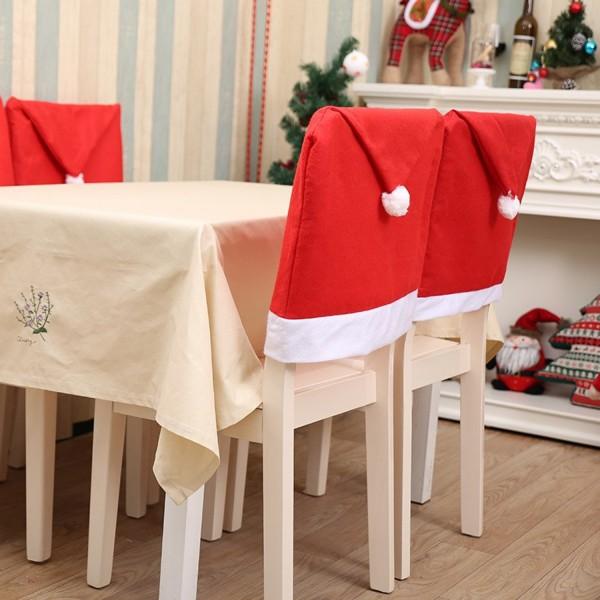 Weihnachten Stuhl-Husse ohne Motiv