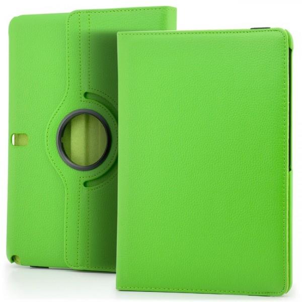 360° Tasche für Samsung Galaxy Note 10.1 Edition 2014 Grün