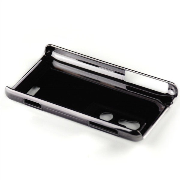 Brushed Case für LG P920 Optimus 3D Schwarz