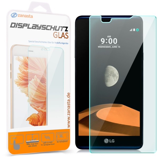 Displayschutzglas für LG X Max