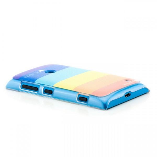 Regenbogen Back Cover für Nokia Lumia 520