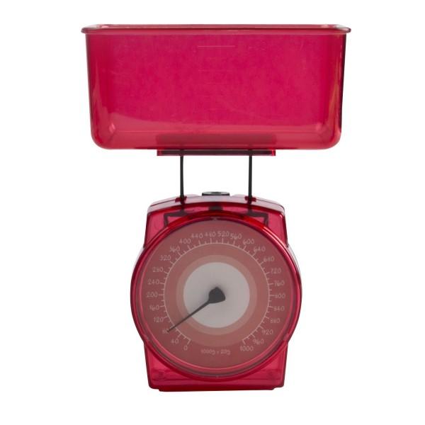 Mini Küchenwaage 1 kg - Rot