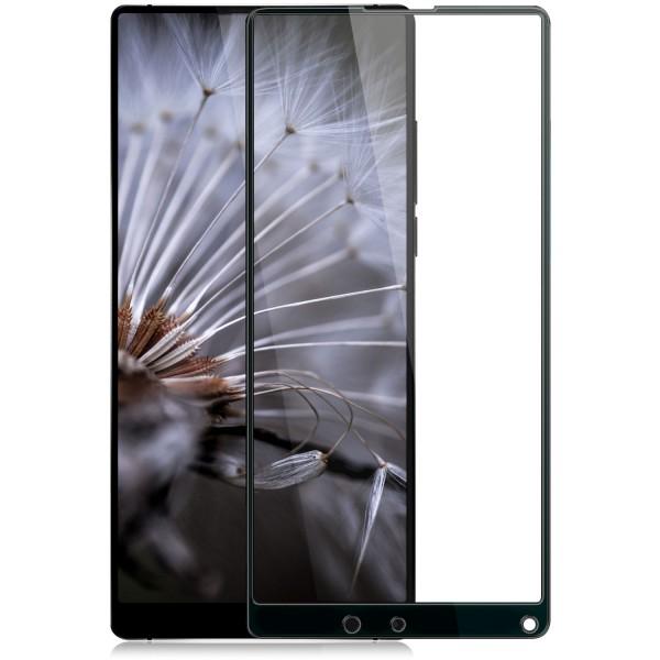 1x Full Cover Displayschutzglas für Xiaomi Mi Mix 2S - Schwarz