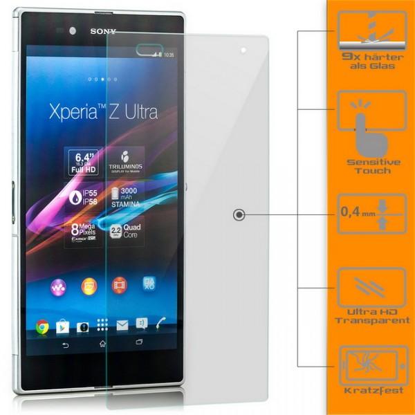 Displayschutzglas für Sony Xperia Z Ultra XL39h