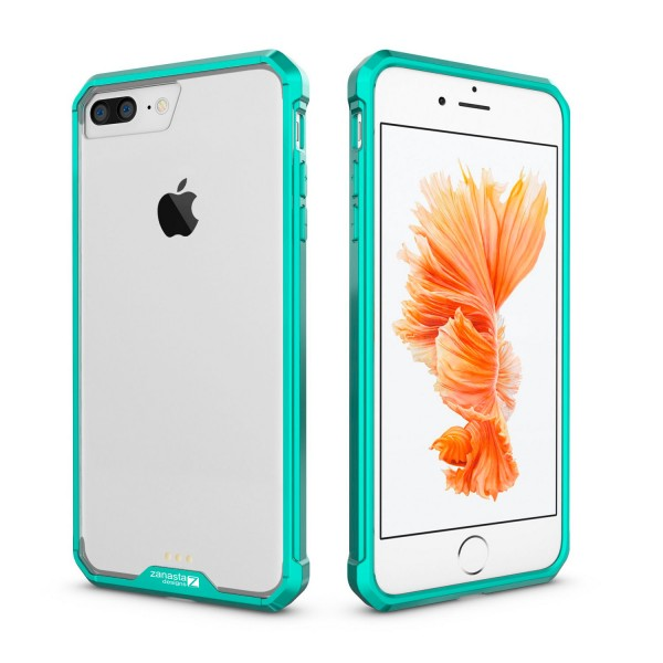 """Schockproof Case für Apple iPhone 8 Plus / 7 Plus (5,5"""") - Türkis"""