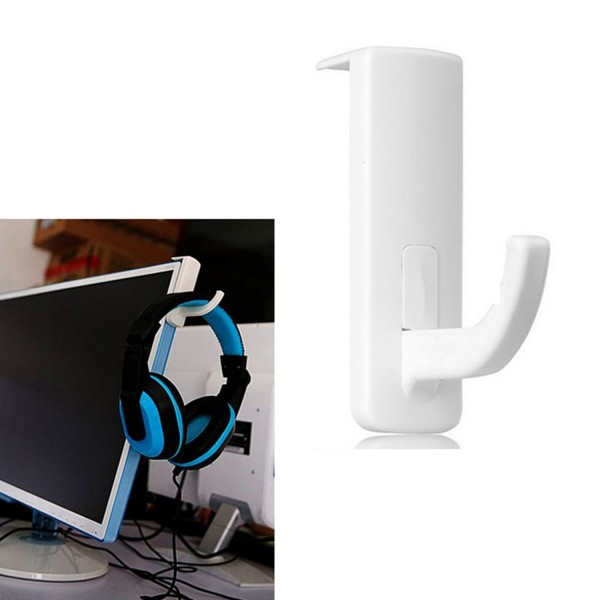 Kopfhörer Halterung aus Kunststoff - Weiß