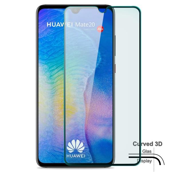 Curved Displayschutzglas für Huawei Mate 20 - Schwarz