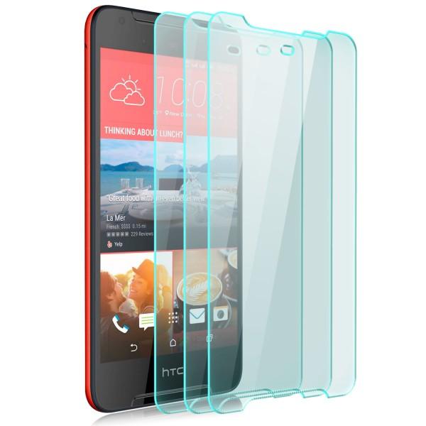 3x Displayschutzglas für HTC Desire 628 Dual Sim