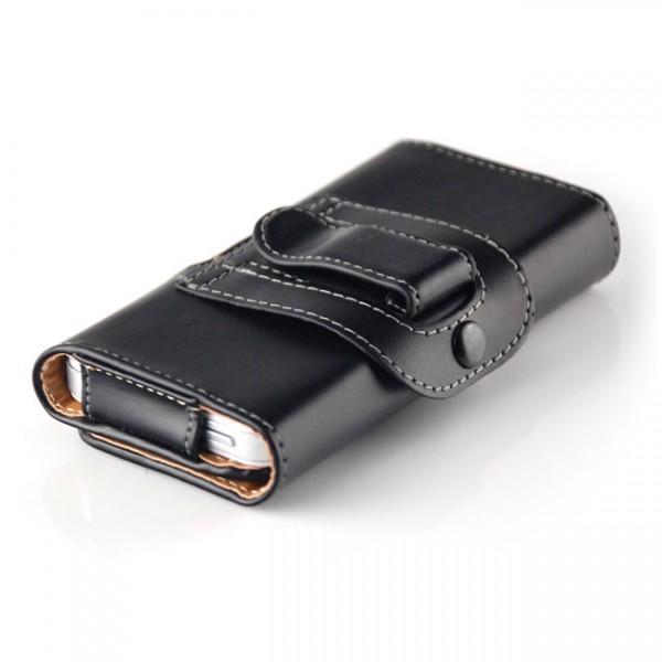 Gürteltasche für Smartphones (Innenmaße 115 x 60 x 14 mm) Querformat Saxonia