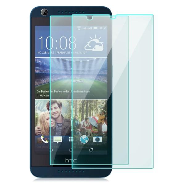 2x Displayschutzglas für HTC Desire 626G