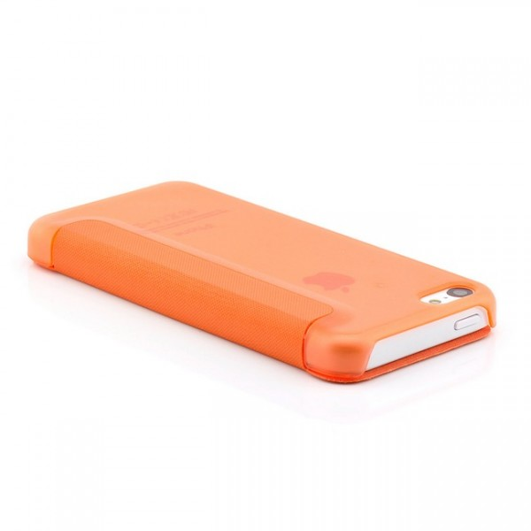 Slim View Case für Apple iPhone 5C Orange