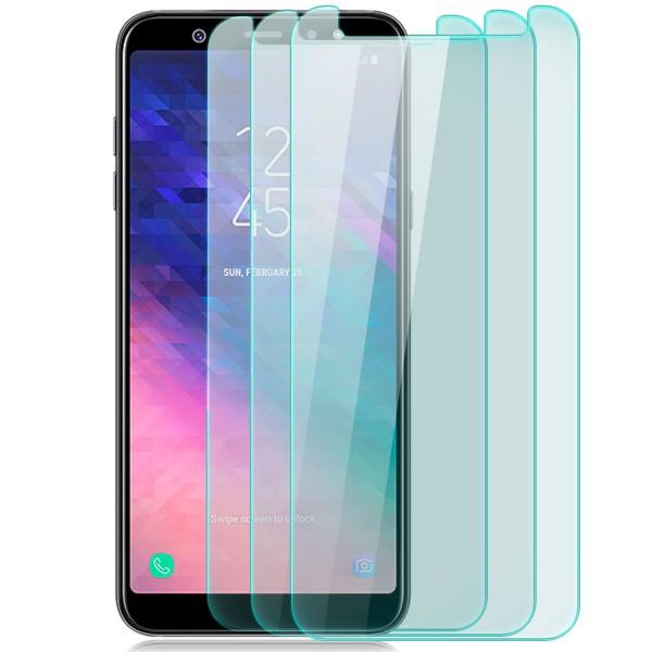 3x Displayschutzglas für Samsung Galaxy A6 Plus (2018)