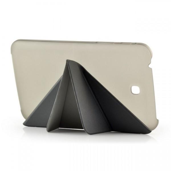 Transformer Stand Case für Samsung Galaxy Tab 3 Schwarz