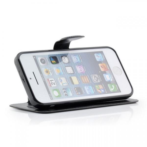 Business Tasche für Apple iPhone 5C Schwarz
