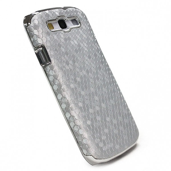 Cells Back Cover für Samsung Galaxy S3 Silber