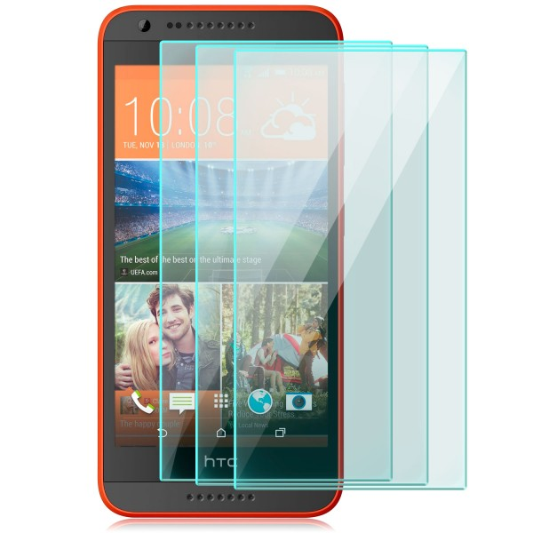 3x Displayschutzglas für HTC 620G Dual Sim