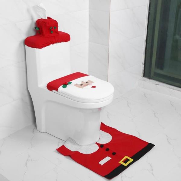 Weihnachten Toilettenüberzug
