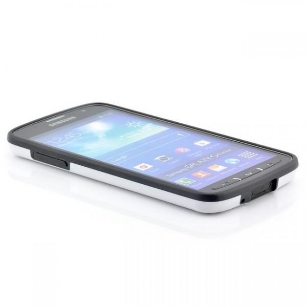 Cubes TPU Back Cover für Samsung Galaxy S4 Active Schwarz-Weiß
